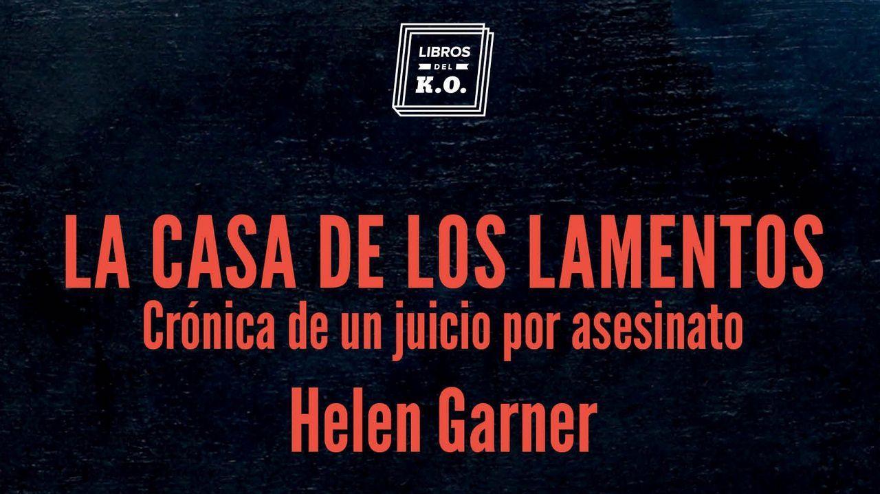 Detalle de la portada del libro de Helen Garner