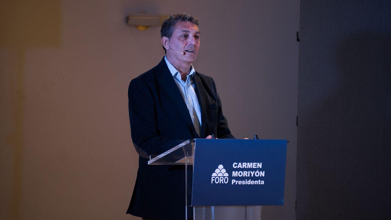 Entrevista a Carmen Moriyón, candidata de Foro a la presidencia del Principado.Fernando Tejada, candidato de Foro a la alcaldía de Oviedo