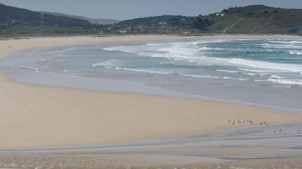 Ferrol. Playa de Esmelle
