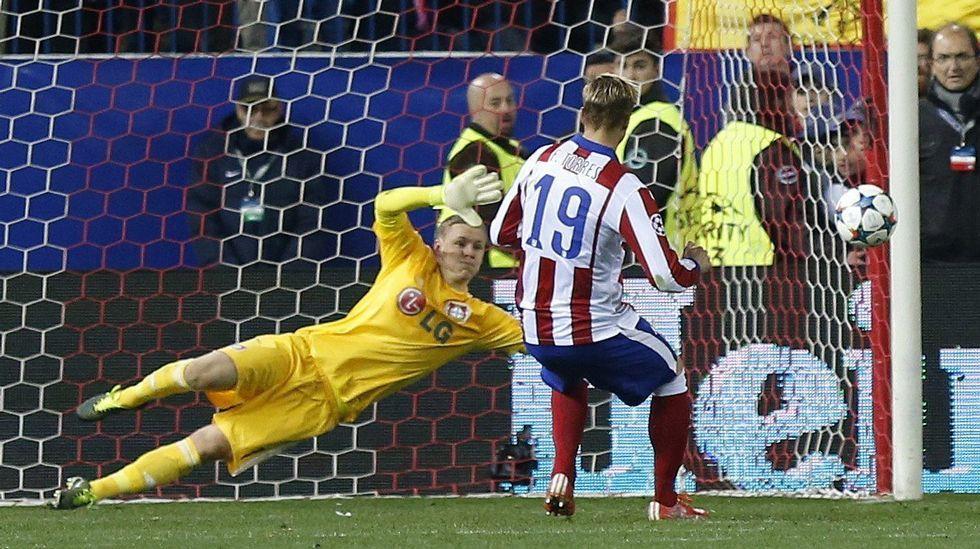 El Atlético de Madrid tuvo que recurrir a los penaltis para superar al Bayer Leverkusen