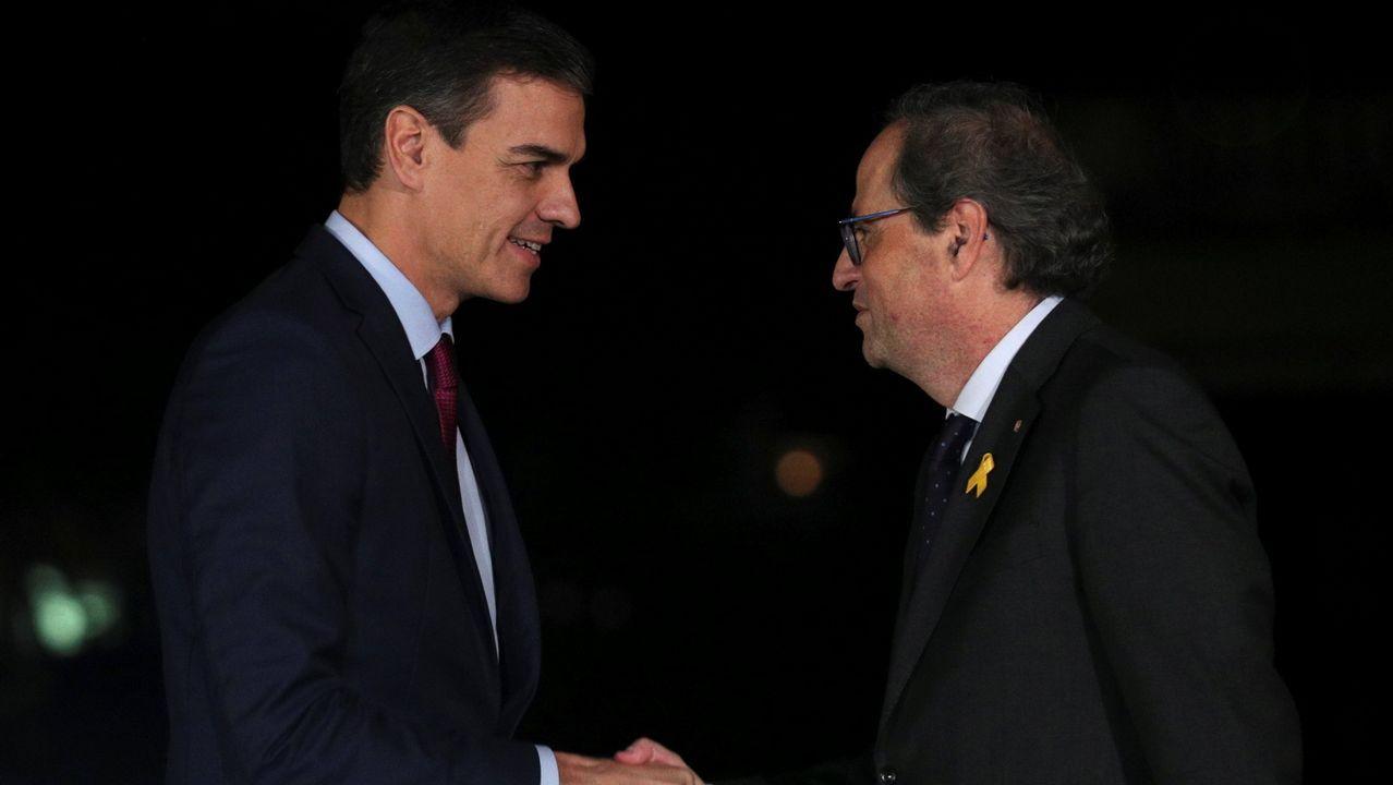 Un año marcado por la moción de censura y la irrupción de la extrema derecha.Pedro Sánchez, en la base de Torrejón, ante de un viaje oficial el pasado junio