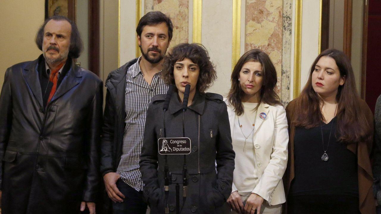 Errejón deja su escaño en el Congreso de los Diputados.La portavoz de Unidos Podemos en el Congreso de los Diputados, Irene Montero