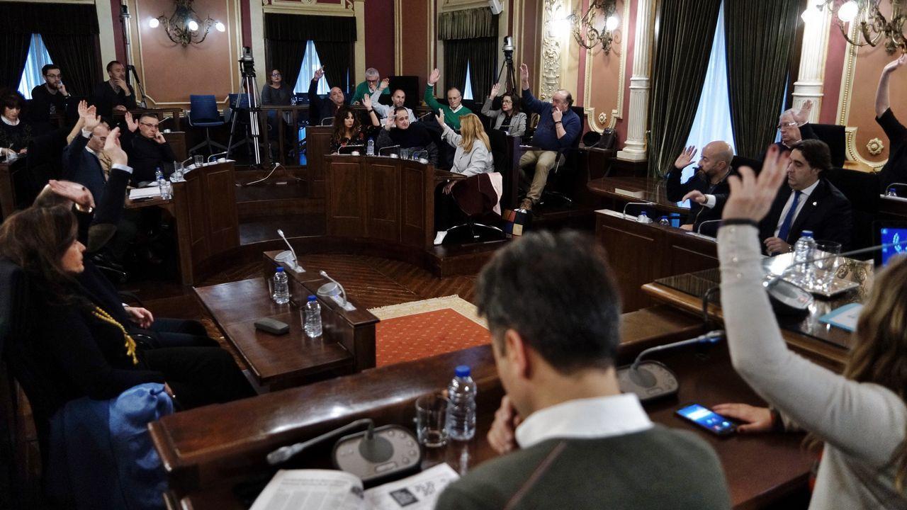 El consejero de Presidencia, Guillermo Martínez, comparece en la Junta General del Principado.El consejero de Presidencia, Guillermo Martínez, comparece en la Junta General del Principado