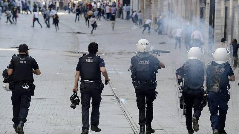 Disturbios en Estambul