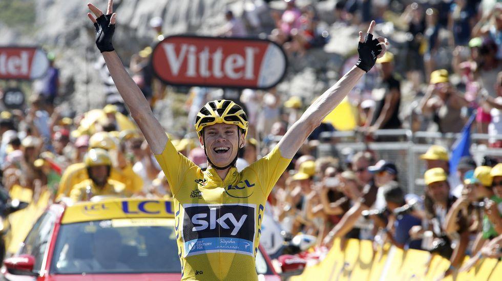 La décima etapa del Tour de Francia en imágenes.