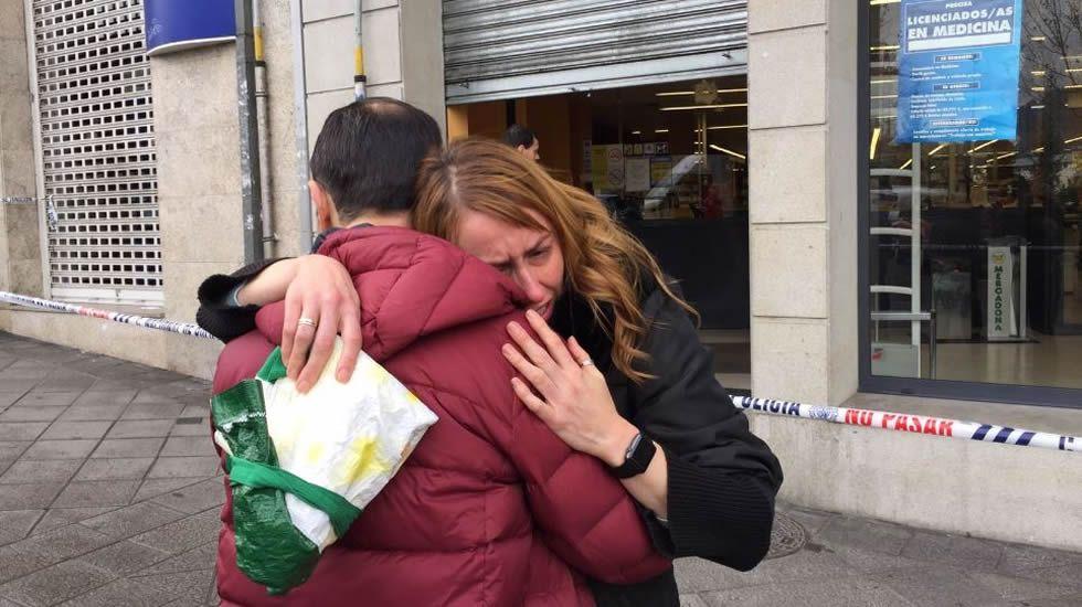 Entra a tiros en un supermercado de Ourense