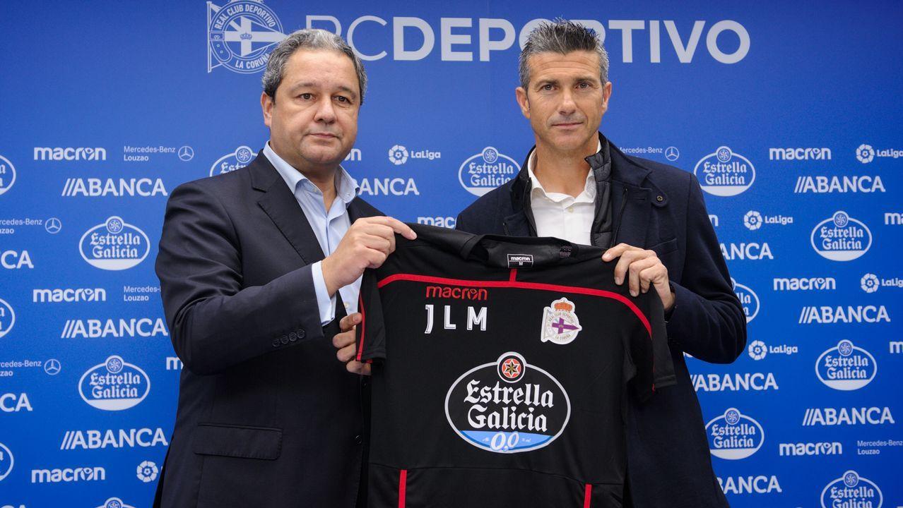 Así fue la presentación de José Luis Martí.El 21 de enero del 2014 Tino Fernández se proclamaba presidente del Deportivo y dejaba atrás la era Lendoiro