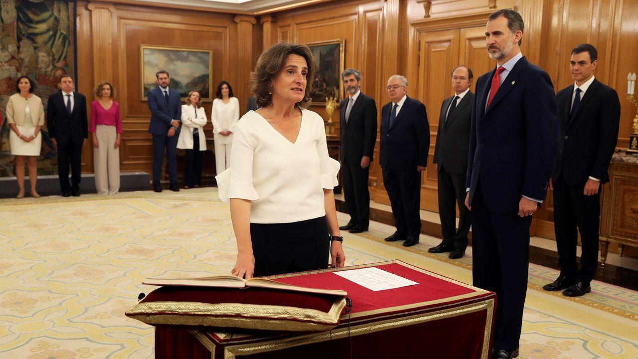 Teresa Ribera promete su cargo como nueva ministra de Transición Ecológica