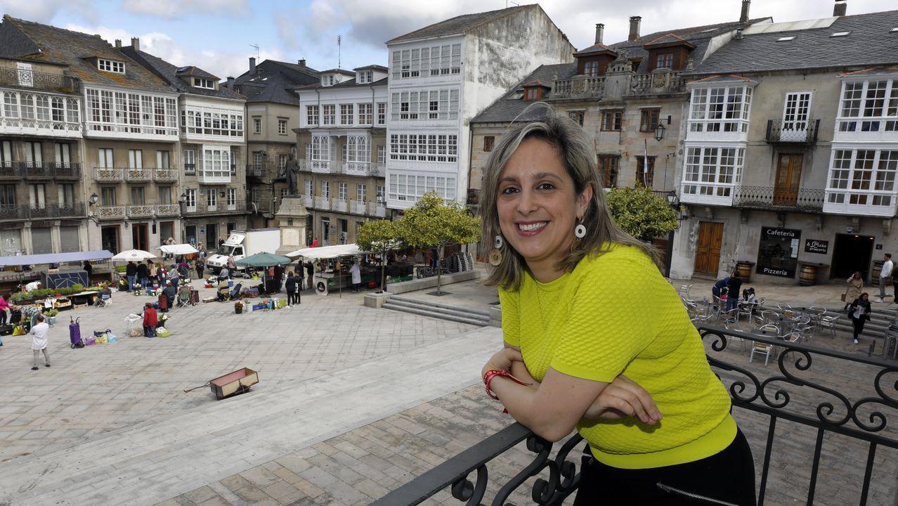 María Loureiro, alcaldesa y candidata del PSOE a las elecciones municipales de Viveiro