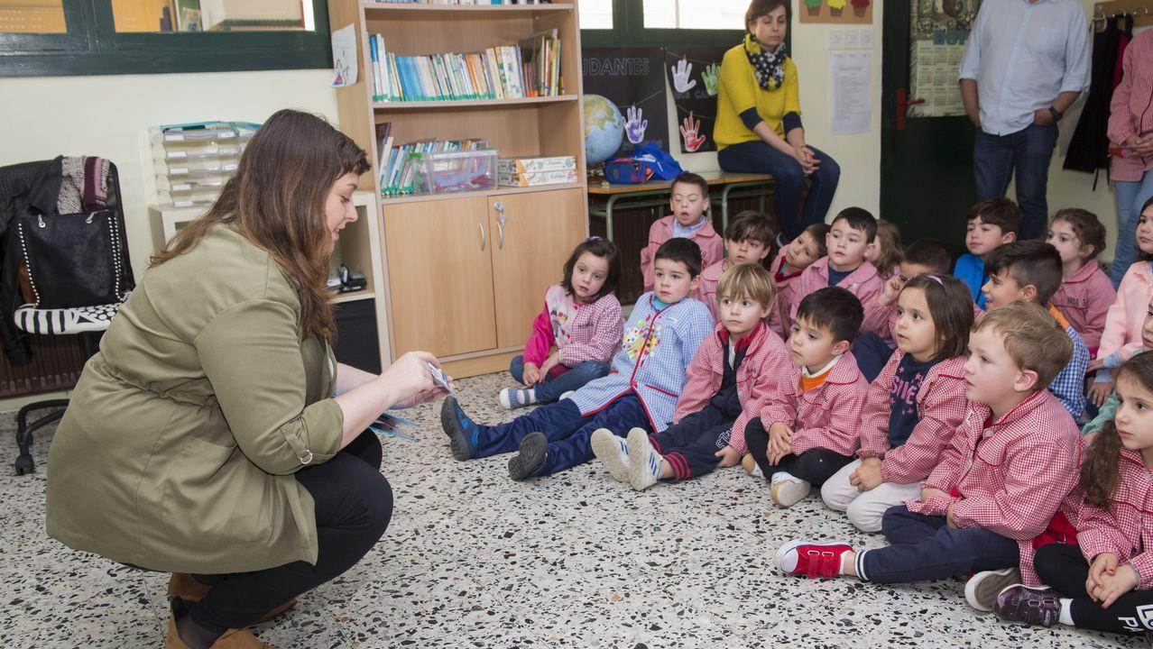 También hubo obradoiros para infantil y primaria
