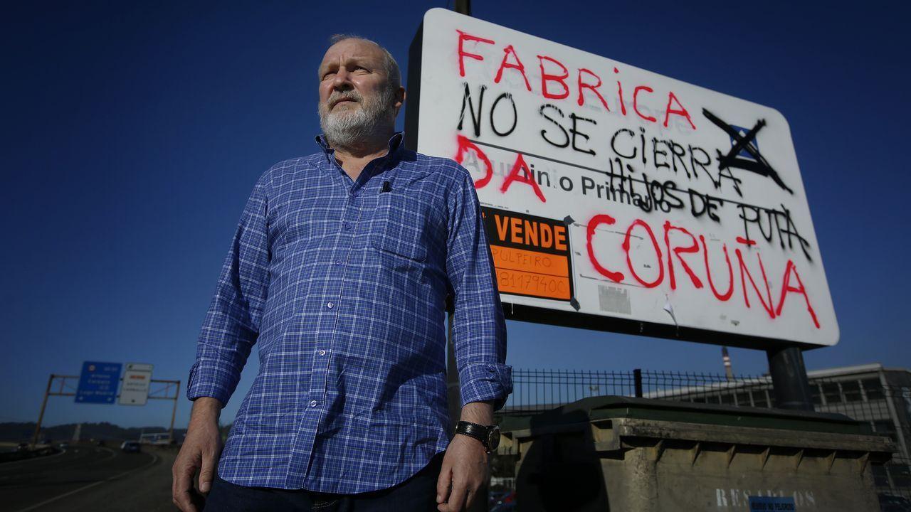 Marcha para intentar frenar los 369 despidos en Alcoa.Adán presentó el Registro de Titularidades Reales
