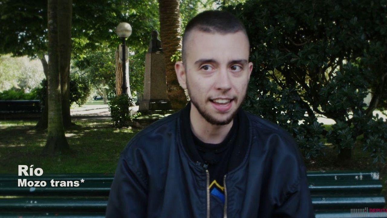 Un fotograma del vídeo que opta a los Maestro Mateo