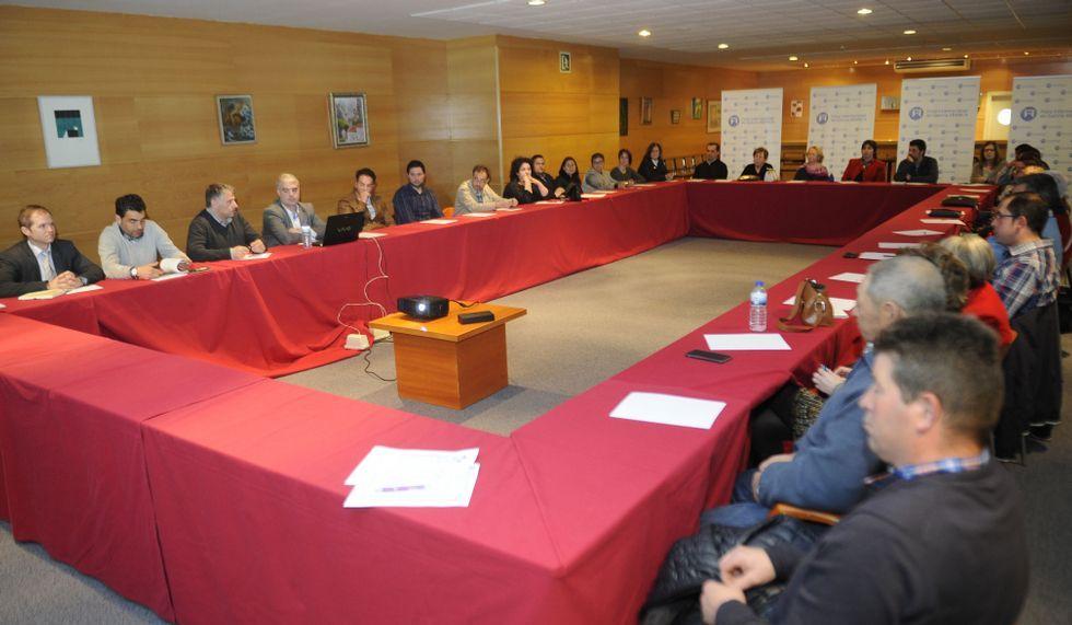 La reunión de Terras Pontevedra Norte se celebró en Silleda.