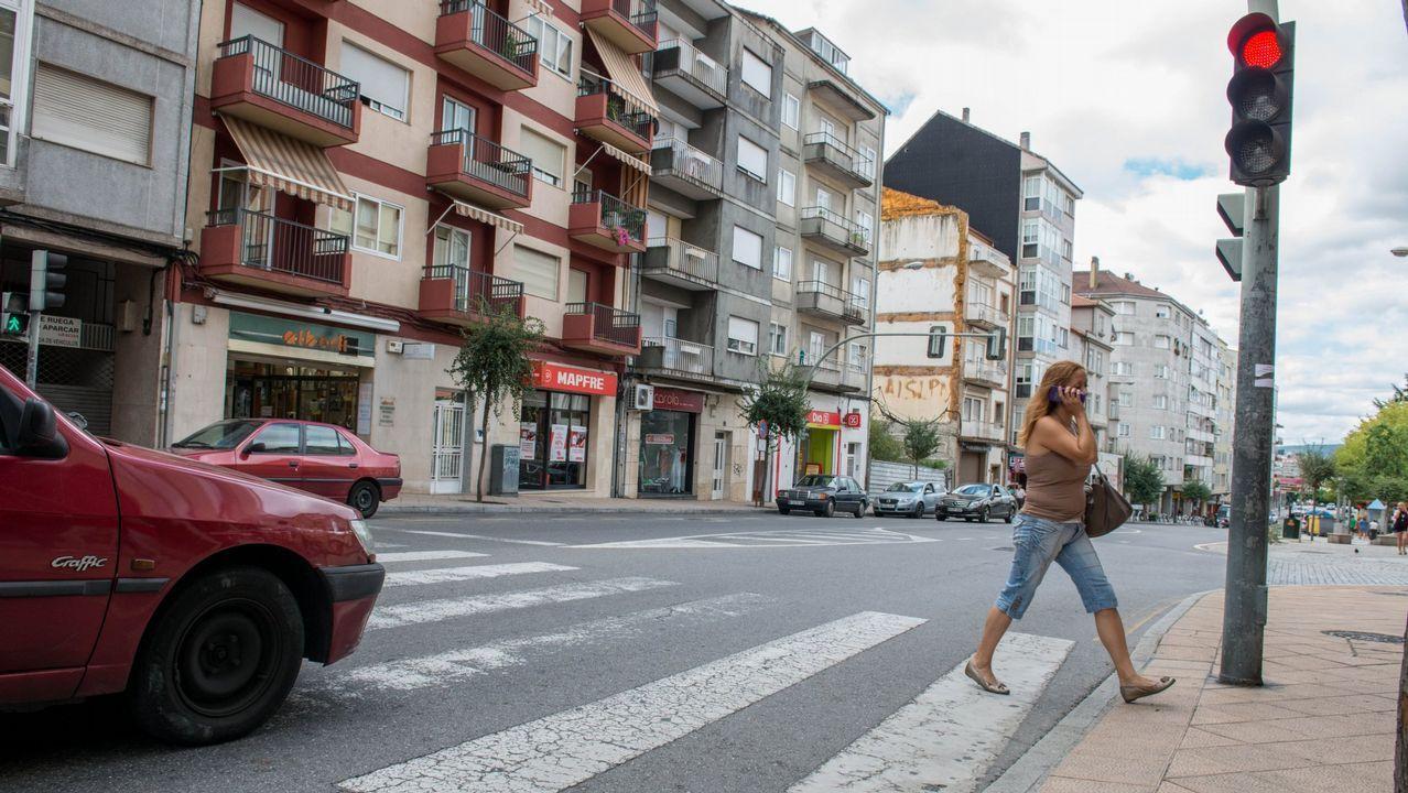 Pasos de peatones con deficiencia son quejas comunes en Galicia
