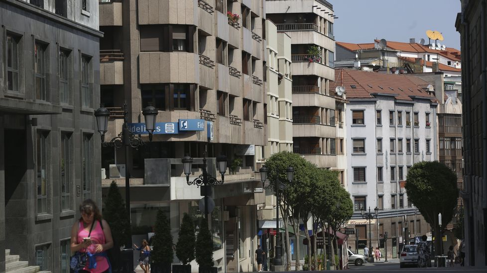.Edificios en Oviedo