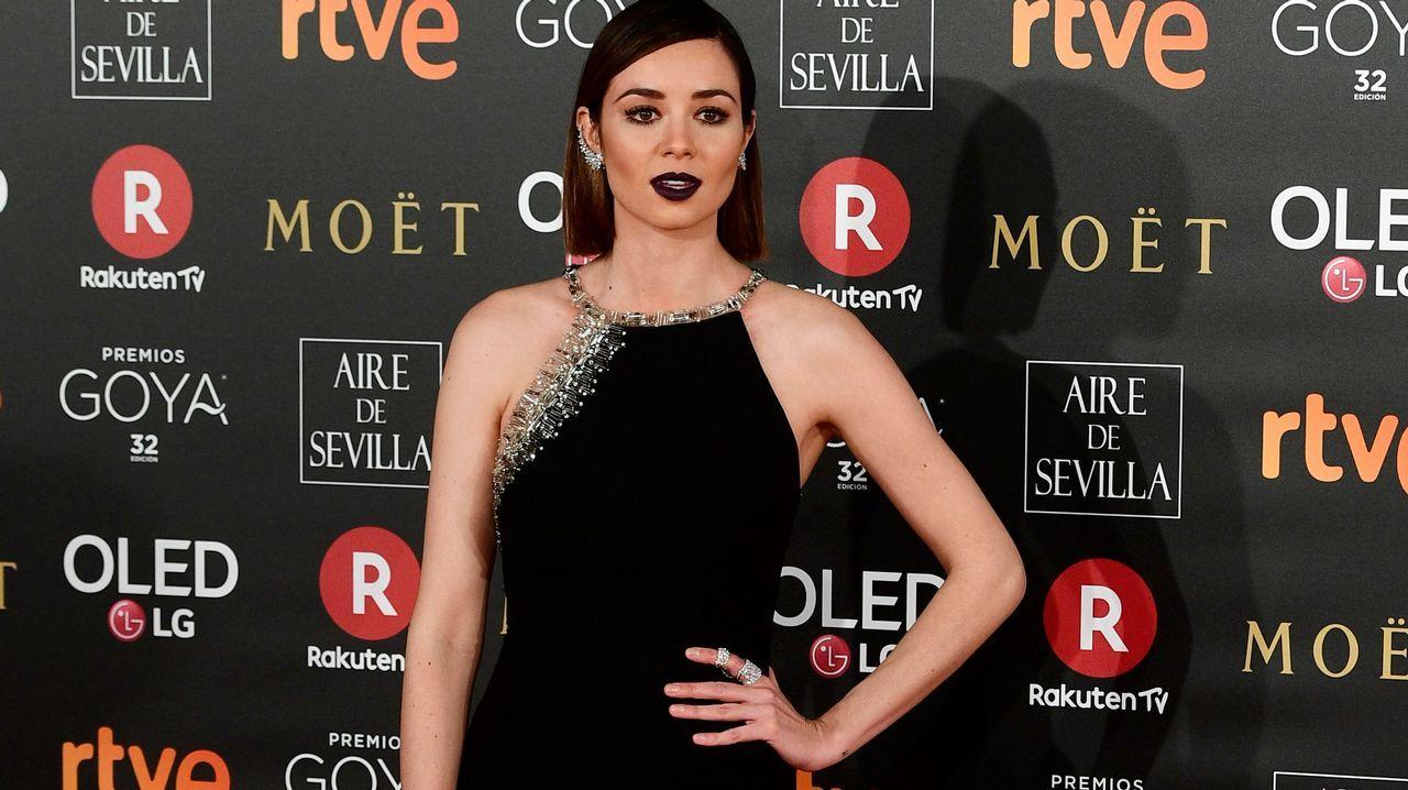 .La actriz Dafne Fernández
