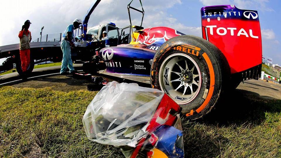 Imágenes del lluvioso Gran Premio de Japón