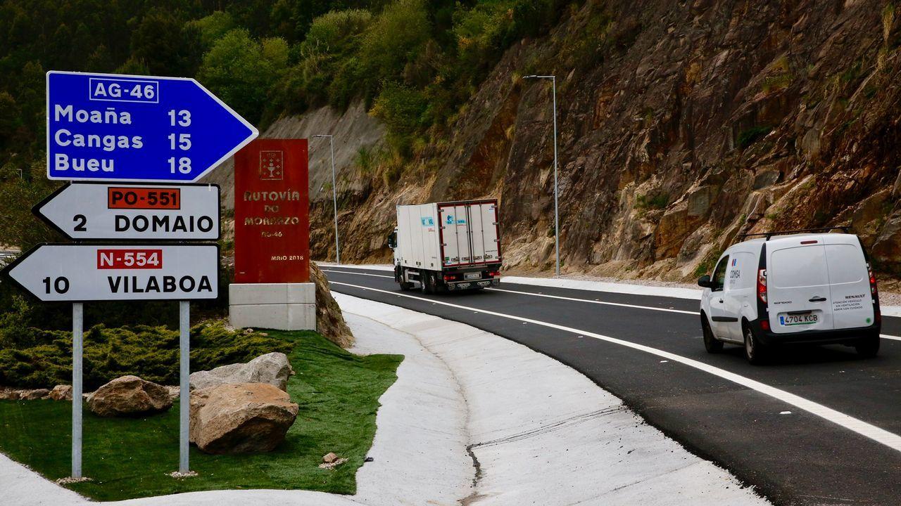 Las obras en Basquiños colapsan el tráfico por el centro en horas punta