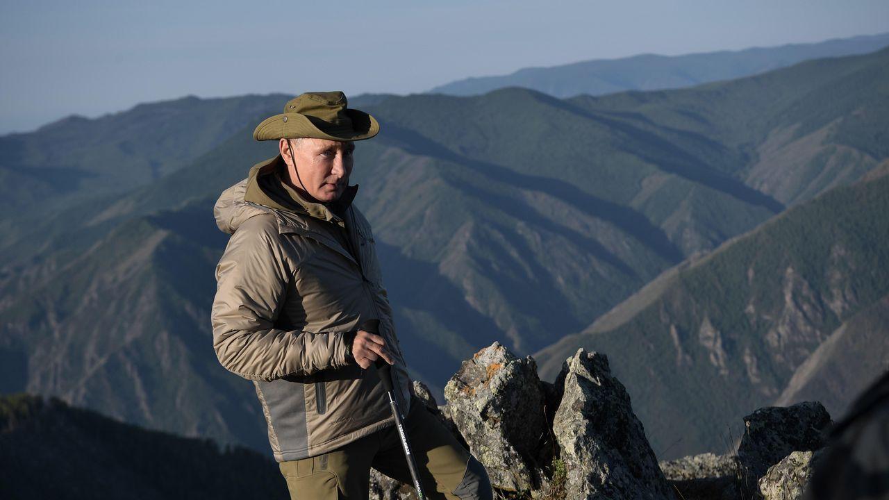 Putin tiene 65 años pero se mantiene en forma