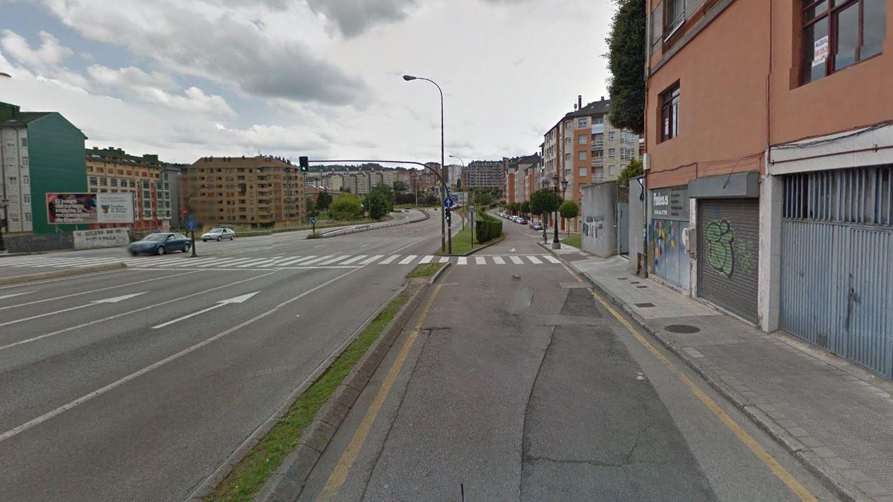 .Calle Goya, Oviedo