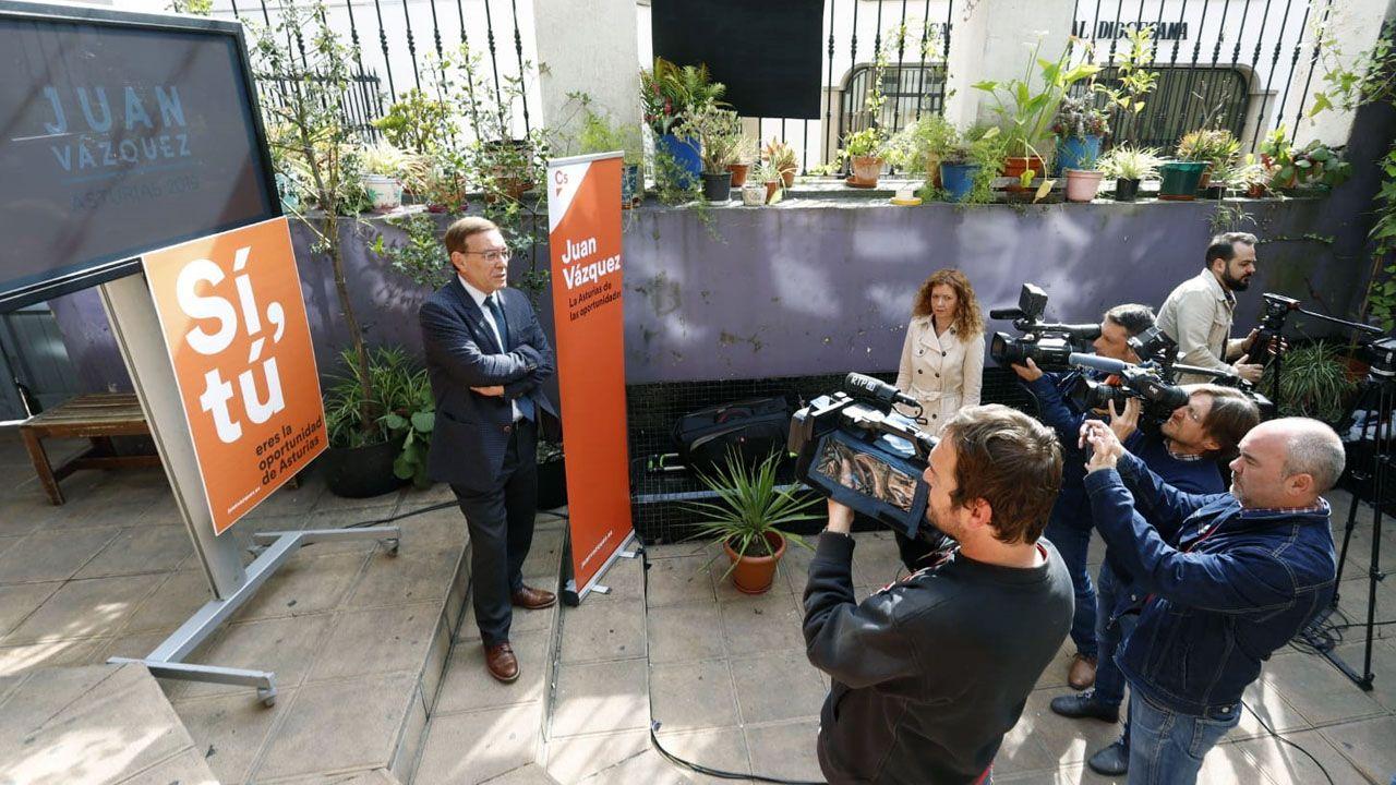 Juan Vázquez presenta su campaña para las elecciones autonómicas