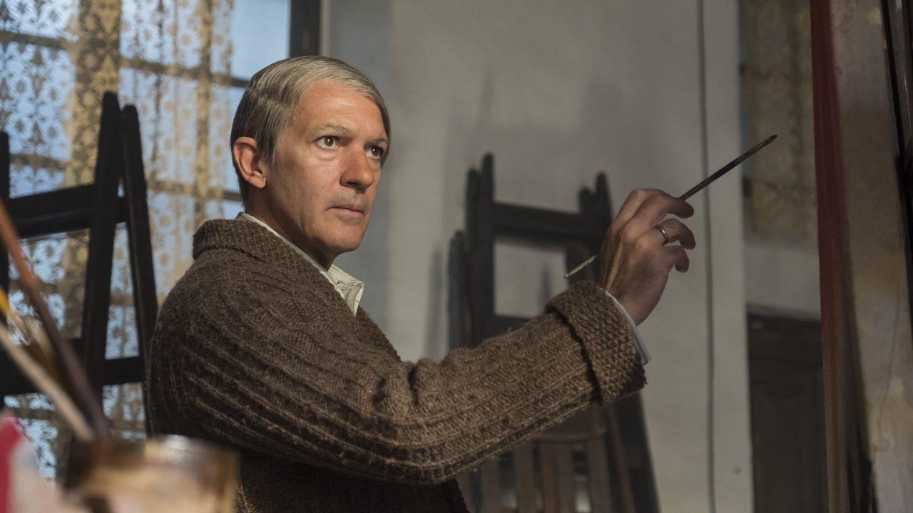 Antonio Banderas se convierte en Picasso.Morricone, Serrat, Scorsese y Raphael