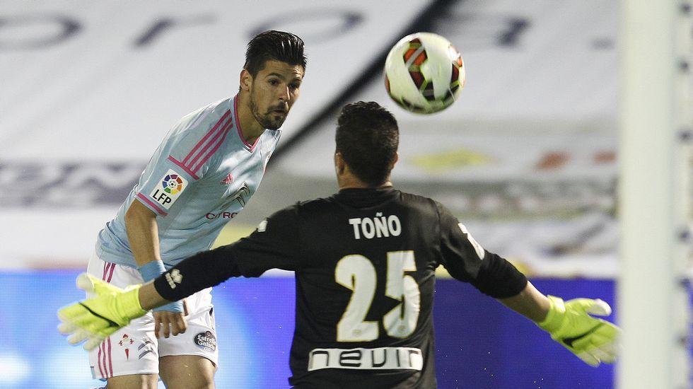 El Almería 2 - Celta 2, en fotos