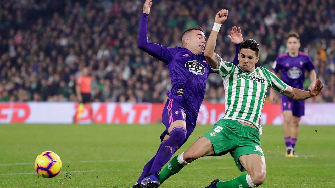 291 - Betis-Celta (3-3) de Primera el 4 de noviembre del 2018