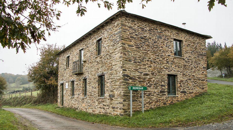Arquitectura tradicional en Remesar