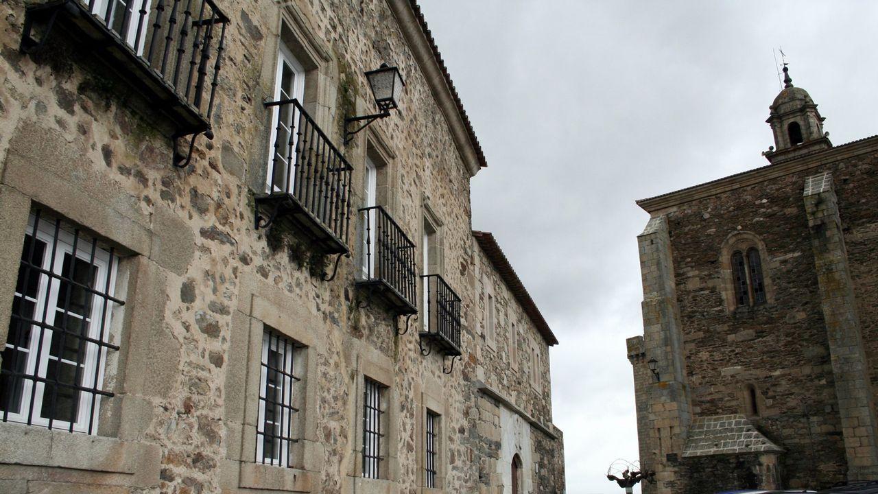 El palacio de los condes de Lemos, hoy Parador de Monforte, sirvió de alojamiento al enviado real en 1610