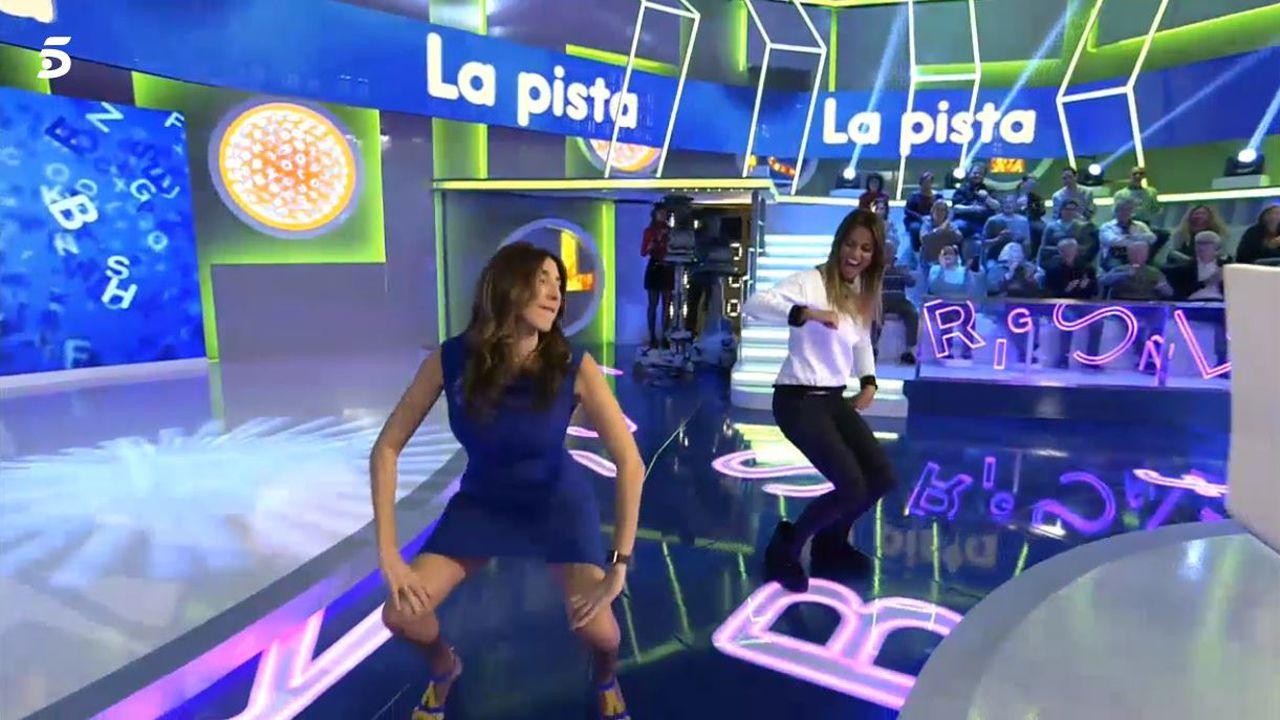 Centenaria de A Lama, Grou (Lobios), Segunda Portela Rodríguez.Paz Padilla reta a Lara Álvarez a un duelo de «twerking»