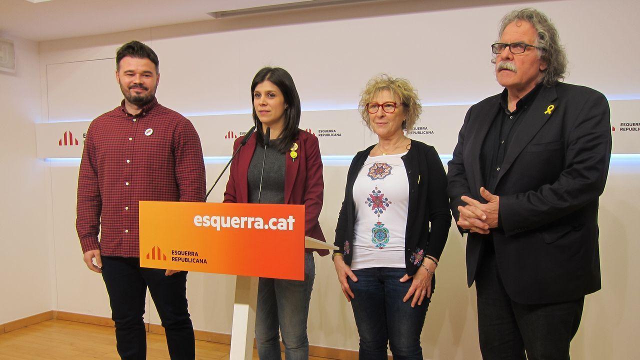Rufián, Vilalta, Cortès y Tardá, el lunes en Madrid