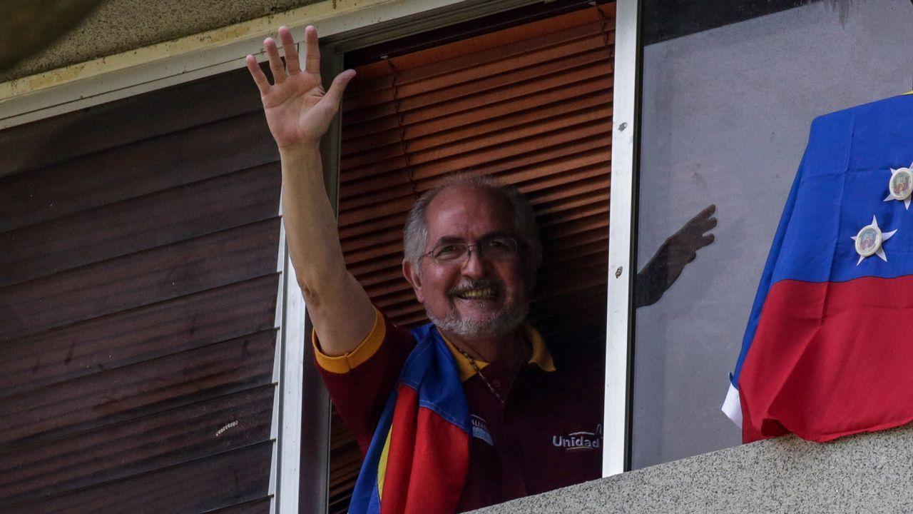 Antonio Ledezma en una imagen de archivo, llevaba en arresto domiciliario desde el 2015