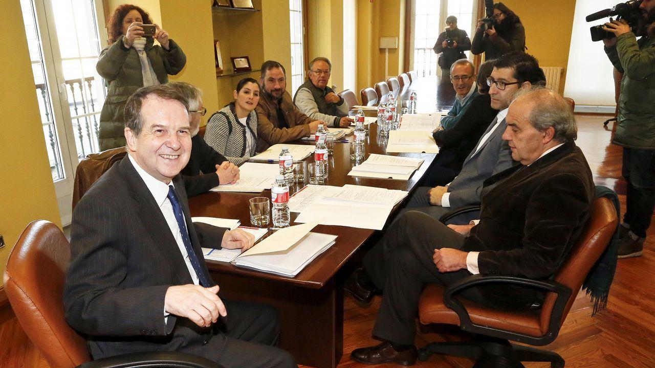 Junta de Gobierno del área metropolitana de Vigo celebrada en enero del 2017