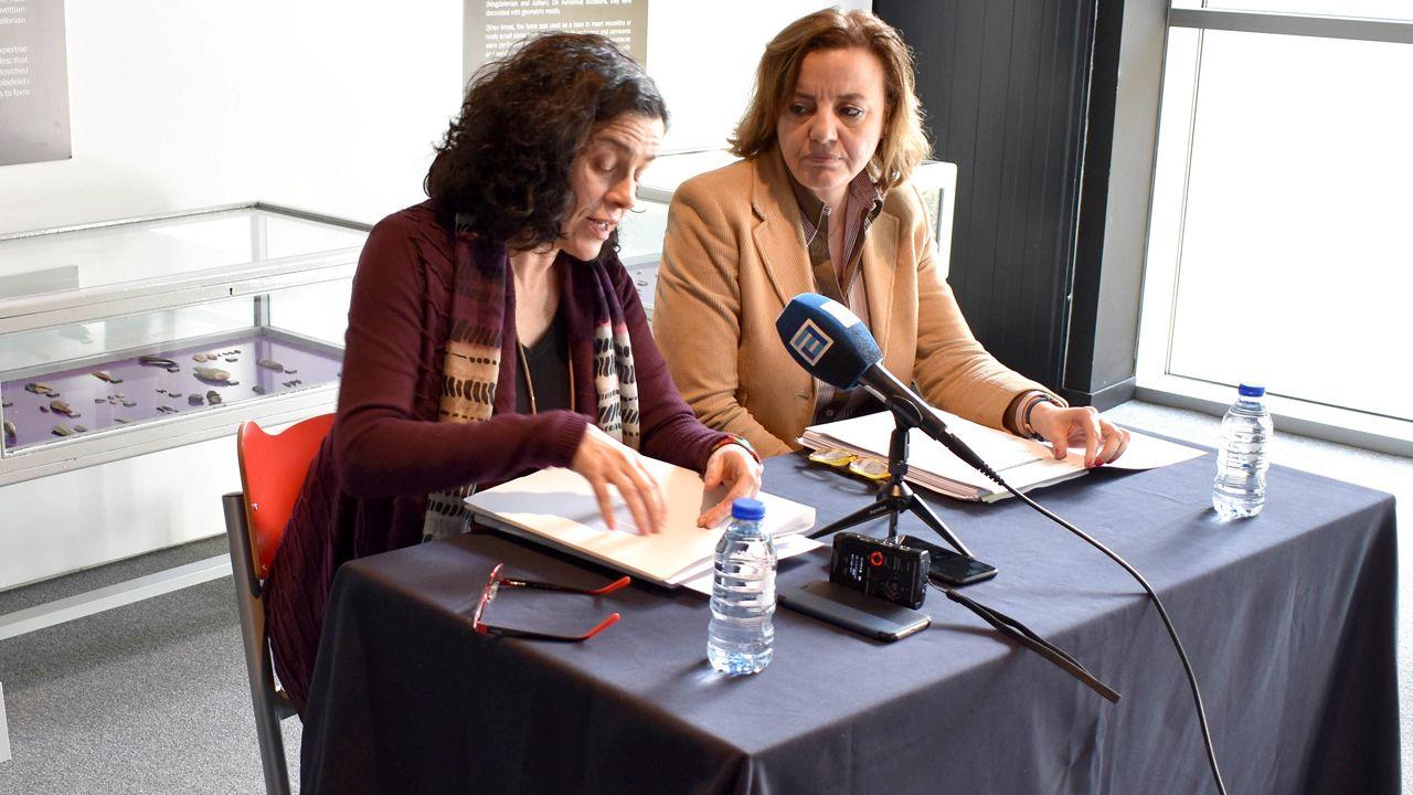 La directora general de Patrimonio Cultural, Otilia Requejo, en rueda de prensa