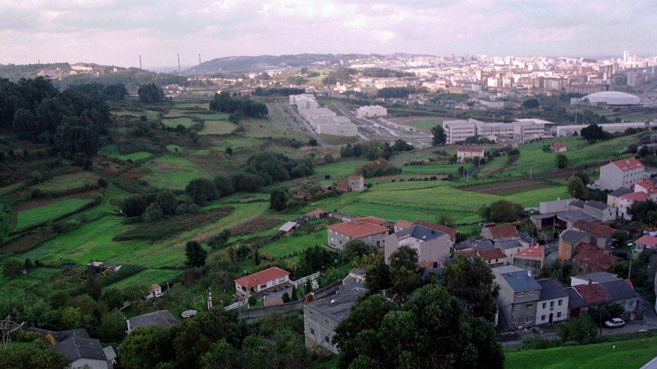 Los terrenos fueron expropiados para el campus de Elviña