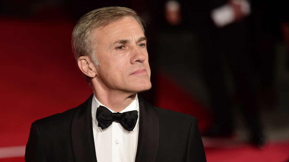 El actor Christoph Waltz