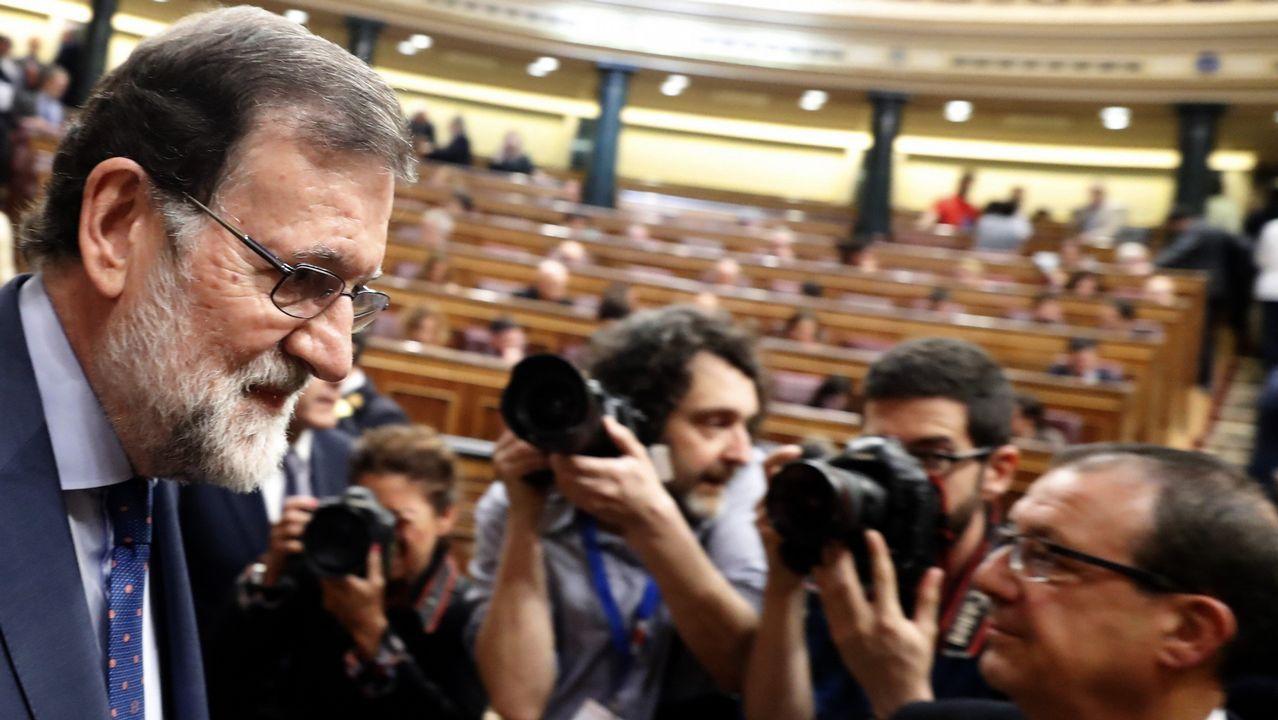 Rajoy dice que era «obligada» la dimisión de Cifuentes.