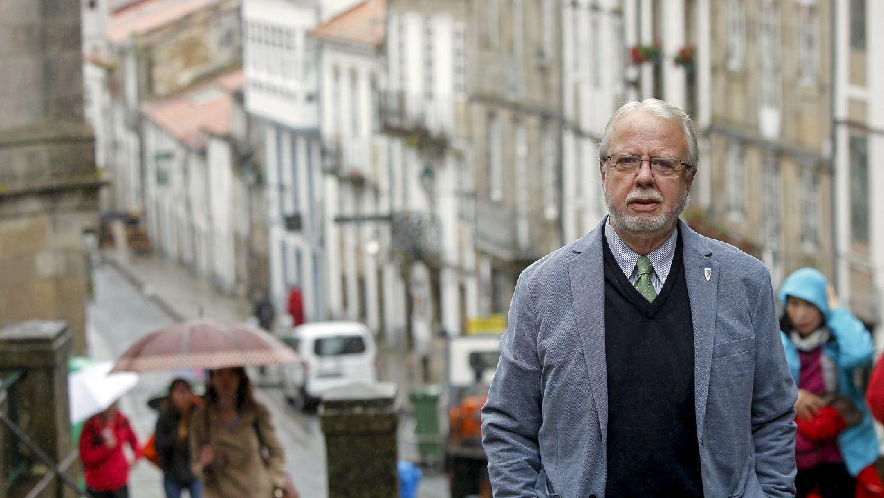 Feijoo: «Ser presidente da Xunta é o que máis pesa na miña decisión».Congreso Nacional del PP, en 2017