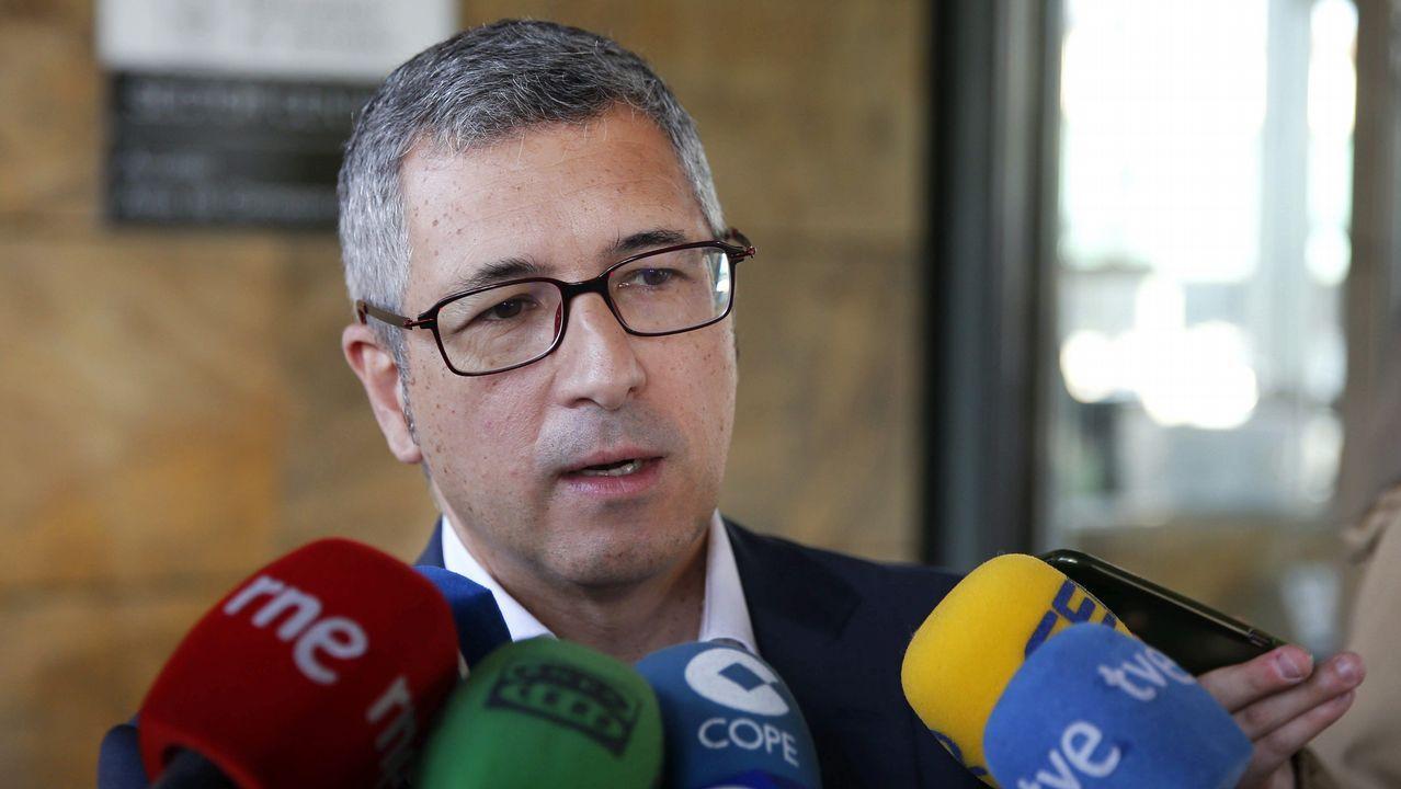 Lidl en la calle de Pérez de Ayala, en Gijón.El secretario de Estado de Medio Ambiente, Hugo Morán