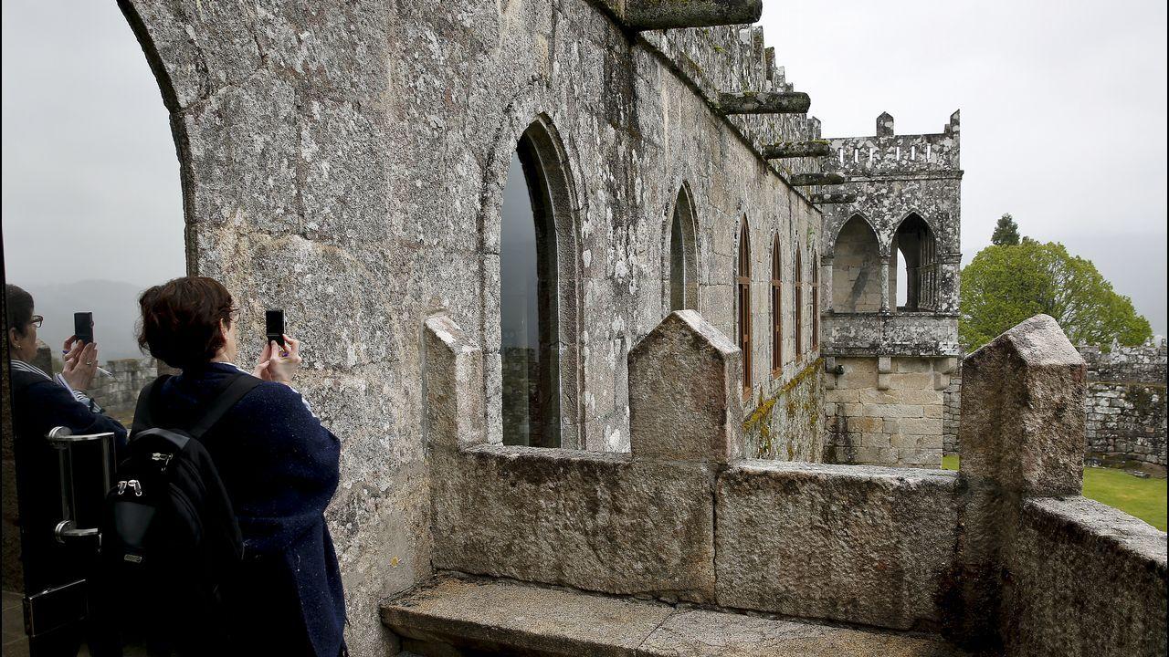 El castillo de Soutomaior se abre al turismo del siglo XXI.