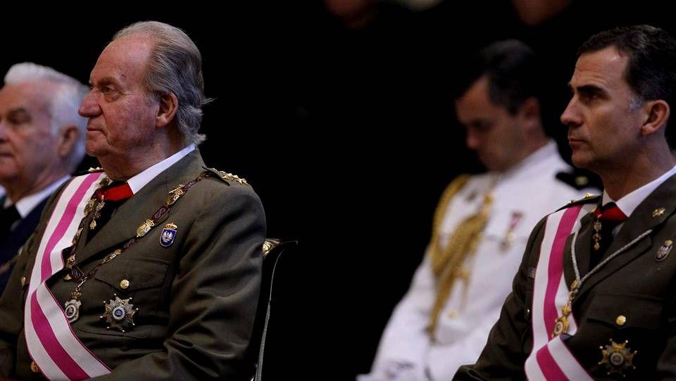 El rey y el príncipe han demostrado mucha complicidad.