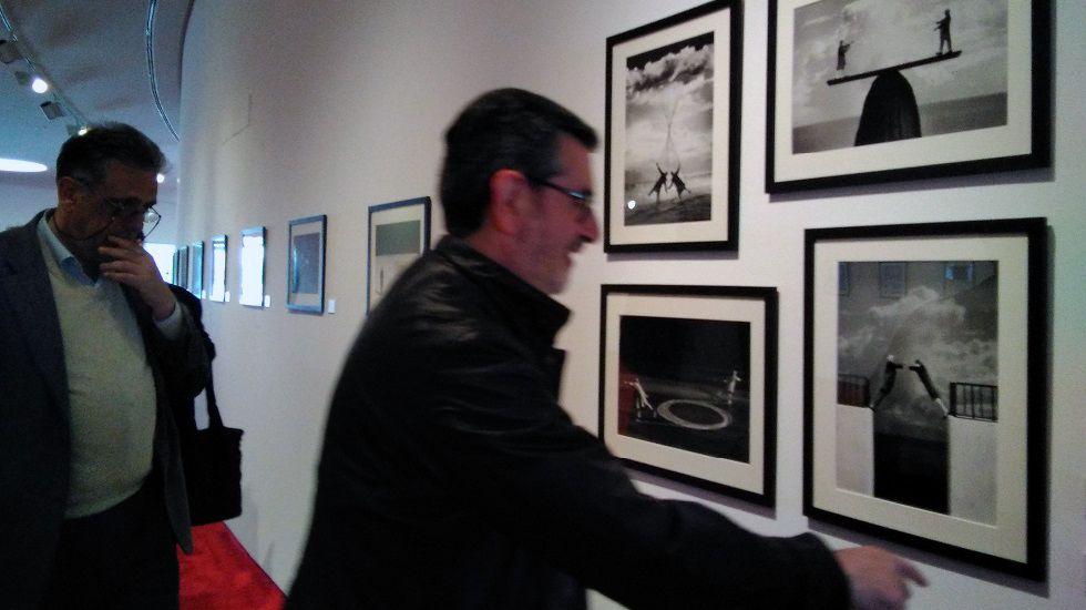 El talento de Ángela Salvadores.Exposición de Gilbert Gracin en el Niemeyer