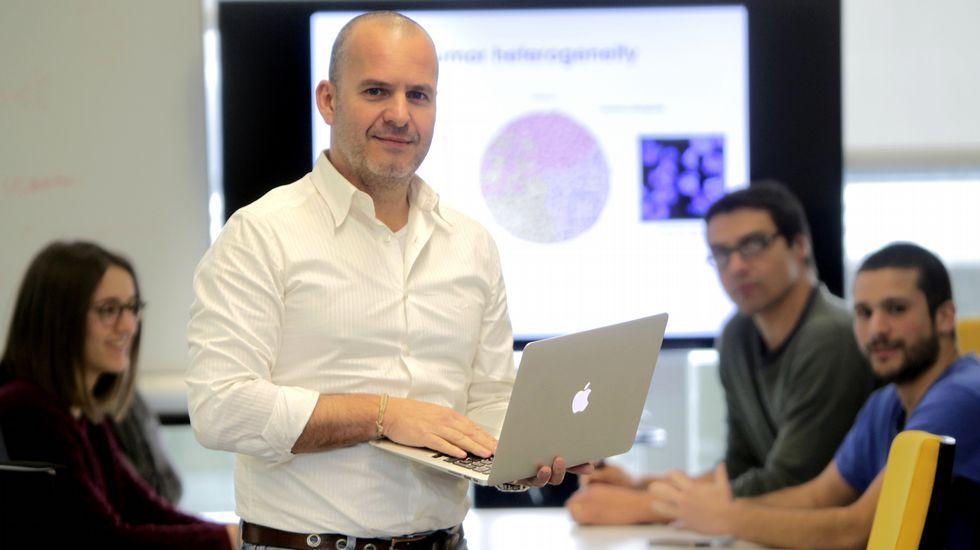 El catedrático de Genética David Posada dirige en la Universidade de Vigo el Laboratorio de Filogenómica.
