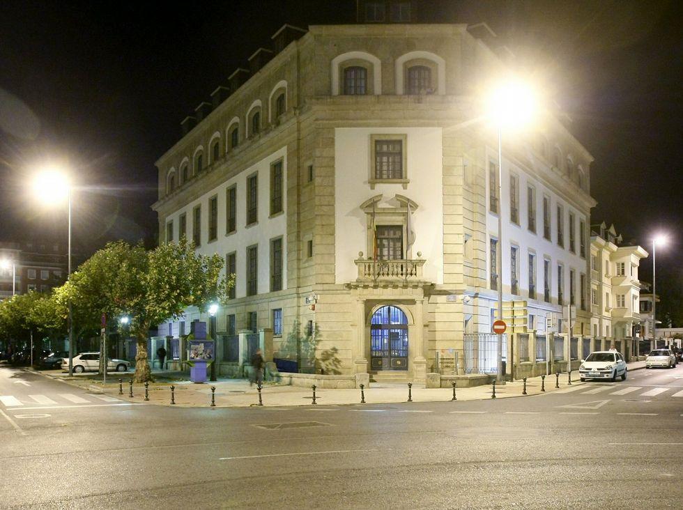 Toma de posesión del fiscal Javier Rey Ozores, en junio de 2009.