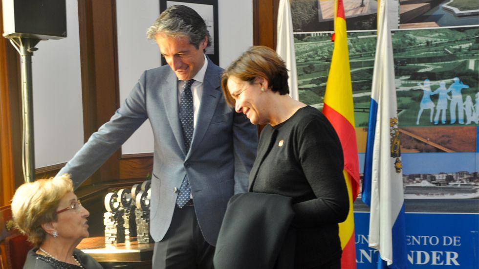 Carmen Moriyón e Íñigo de la Serna, en una foto publicada en el blog de la alcaldesa de Gijón