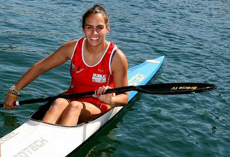 Natalia García Naveiro disputará el K-1 200 y K-4 500 en el Europeo y Mundial Sub-23.