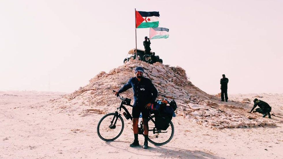 Los 10.000 kilómetros de Nicolás Merino por África