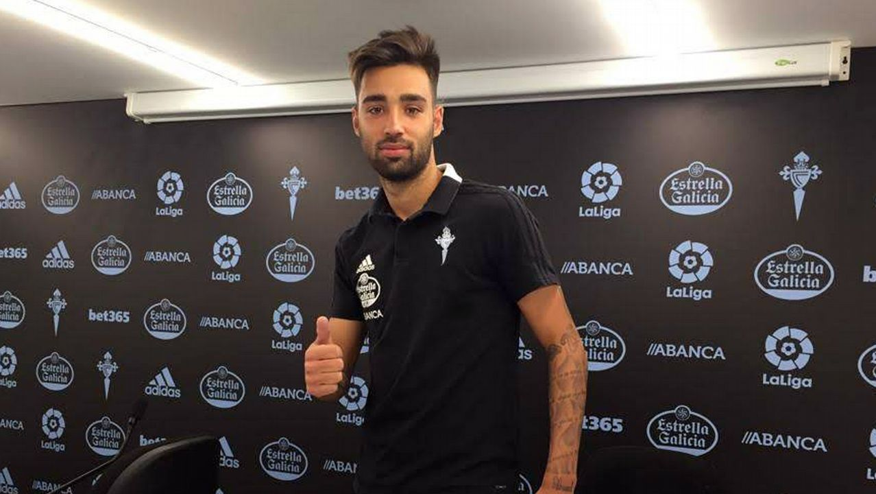 Brais Méndez, feliz tras su primera convocatoria con la selección española absoluta