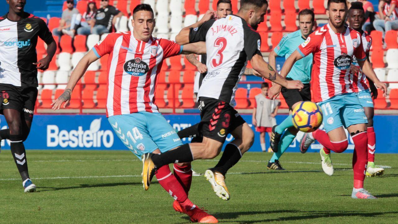El Lugo mantiene el liderato en solitario con un punto de ventaja sobre Granada y Sporting